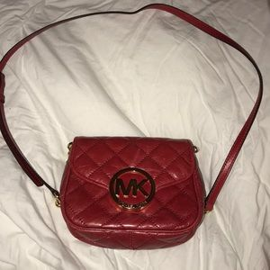 MK red crossbody